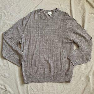 Cream/Grey Dockers Men's Sweater